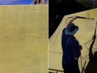 cleaning your shade sail
